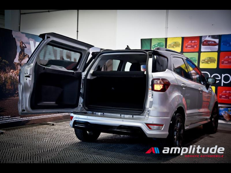 Ford EcoSport 1.0 EcoBoost 125ch ST-Line Euro6.2 Gris occasion à Dijon - photo n°8