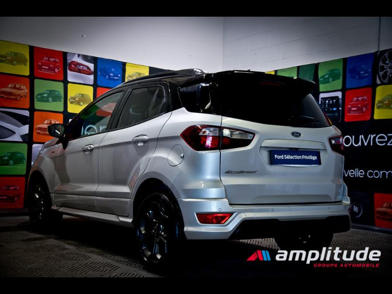 Ford EcoSport 1.0 EcoBoost 125ch ST-Line Euro6.2 Gris occasion à Dijon - photo n°4