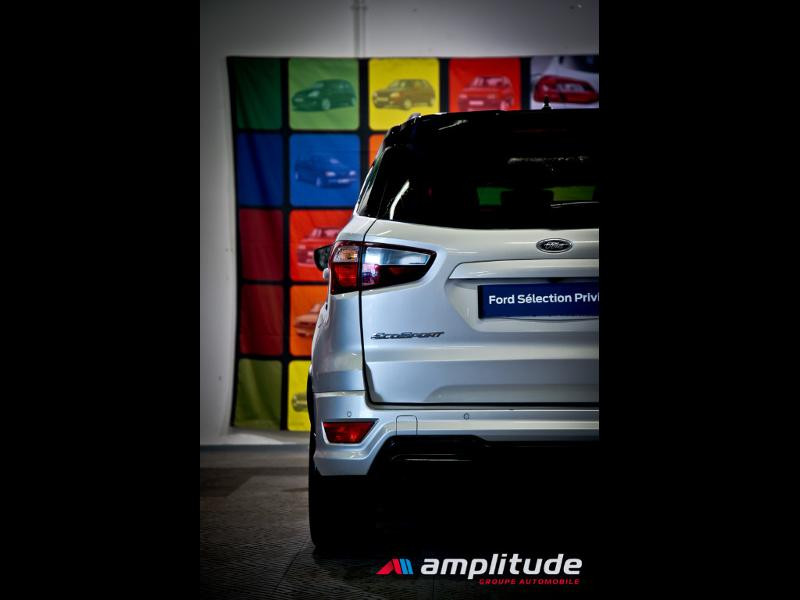 Ford EcoSport 1.0 EcoBoost 125ch ST-Line Euro6.2 Gris occasion à Dijon - photo n°7