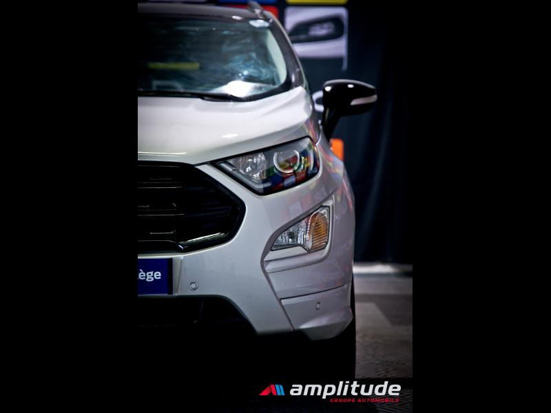 Ford EcoSport 1.0 EcoBoost 125ch ST-Line Euro6.2 Gris occasion à Dijon - photo n°14