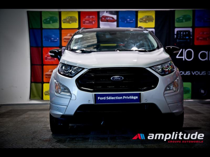 Ford EcoSport 1.0 EcoBoost 125ch ST-Line Euro6.2 Gris occasion à Dijon - photo n°2