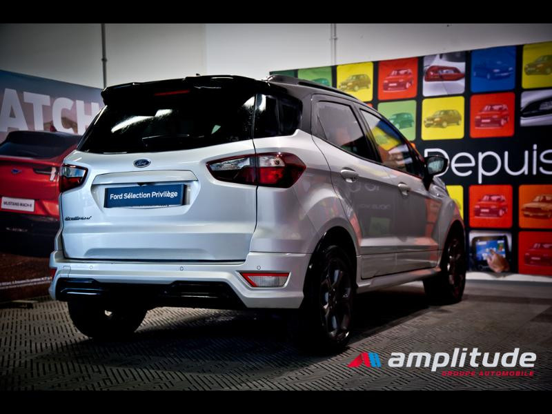 Ford EcoSport 1.0 EcoBoost 125ch ST-Line Euro6.2 Gris occasion à Dijon - photo n°6