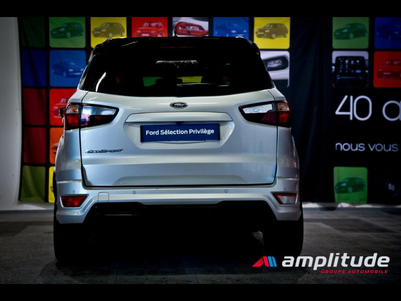Ford EcoSport 1.0 EcoBoost 125ch ST-Line Euro6.2 Gris occasion à Dijon - photo n°5
