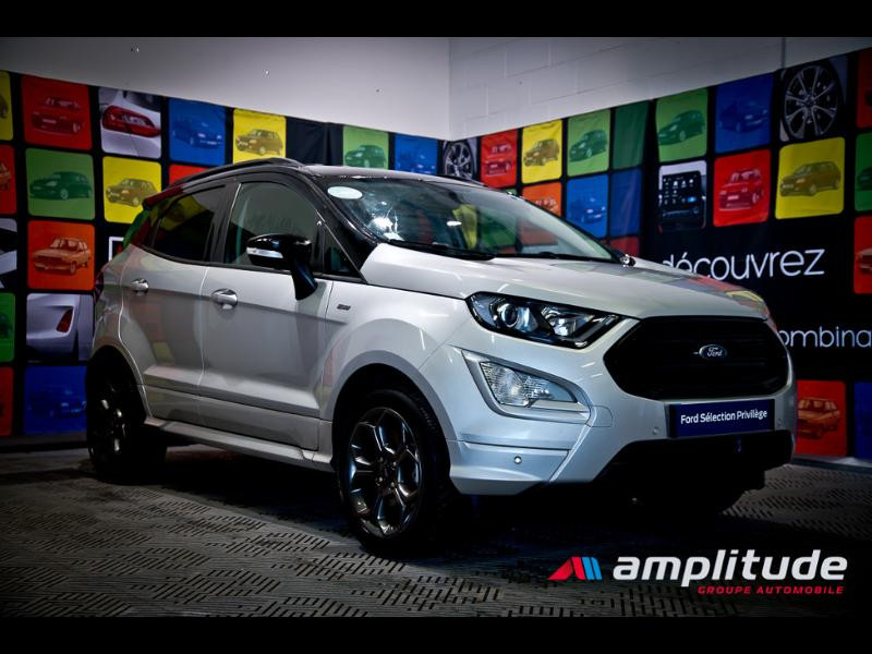 Ford EcoSport 1.0 EcoBoost 125ch ST-Line Euro6.2 Gris occasion à Dijon