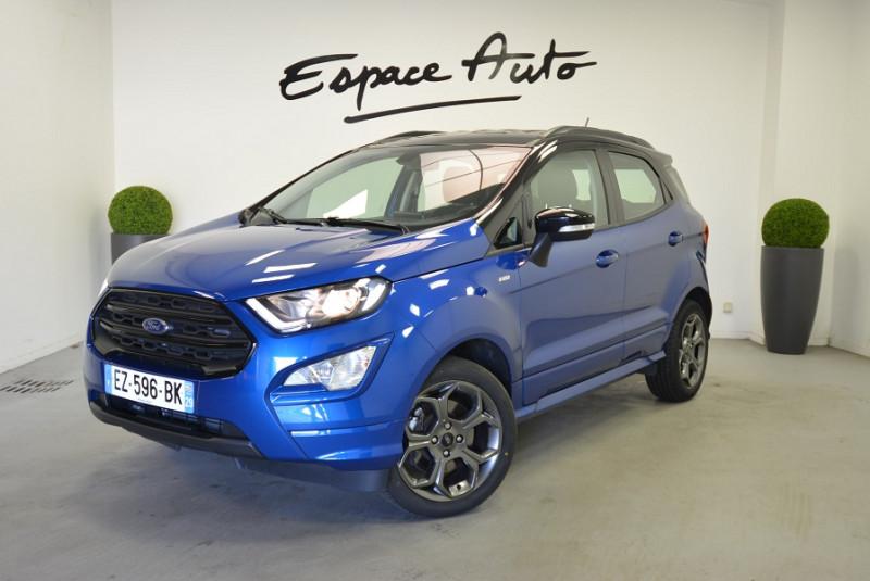 Ford EcoSport 1.0 ECOBOOST 125CH ST-LINE EURO6.2 Bleu occasion à Quimper
