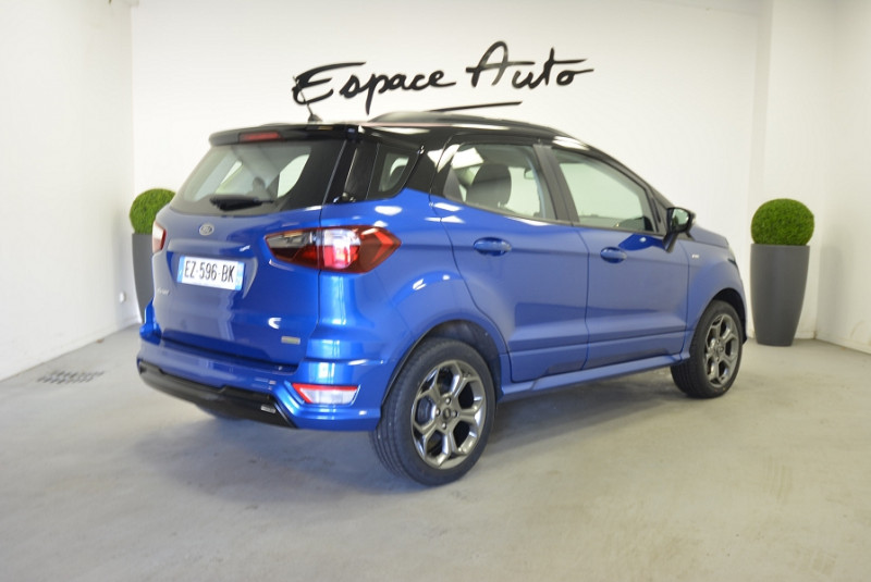 Ford EcoSport 1.0 ECOBOOST 125CH ST-LINE EURO6.2 Bleu occasion à Quimper - photo n°2