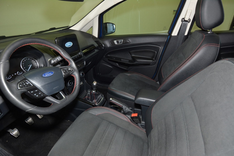 Ford EcoSport 1.0 ECOBOOST 125CH ST-LINE EURO6.2 Bleu occasion à Quimper - photo n°3