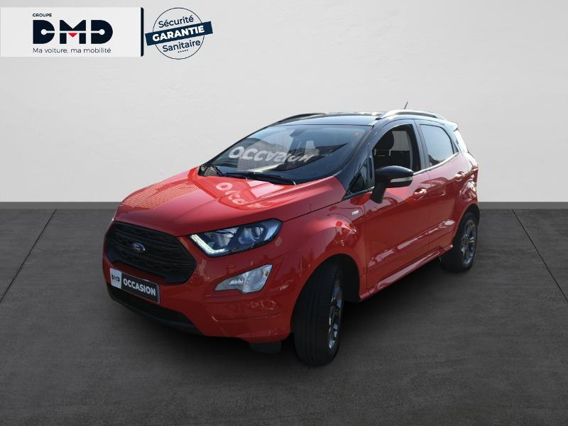Ford EcoSport 1.0 EcoBoost 125ch ST-Line Rouge occasion à Rezé