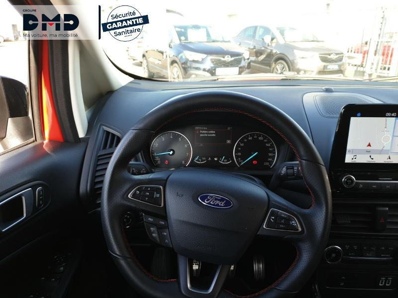Ford EcoSport 1.0 EcoBoost 125ch ST-Line Rouge occasion à Rezé - photo n°7
