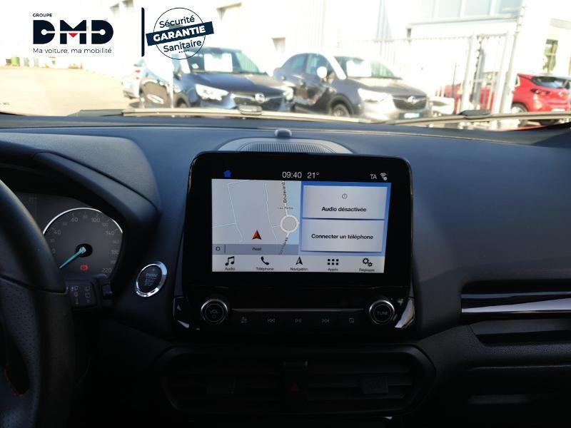 Ford EcoSport 1.0 EcoBoost 125ch ST-Line Rouge occasion à Rezé - photo n°6