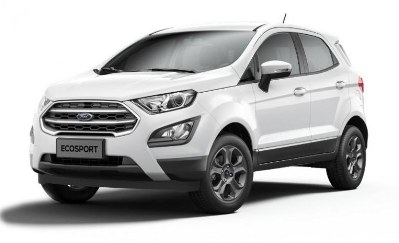 Ford EcoSport 1.0 EcoBoost 125ch Titanium Business Blanc occasion à NIMES