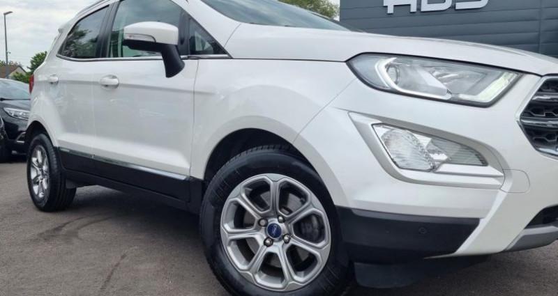 Ford EcoSport 1.0 EcoBoost 125ch Titanium BVA6 Blanc occasion à Diebling - photo n°5