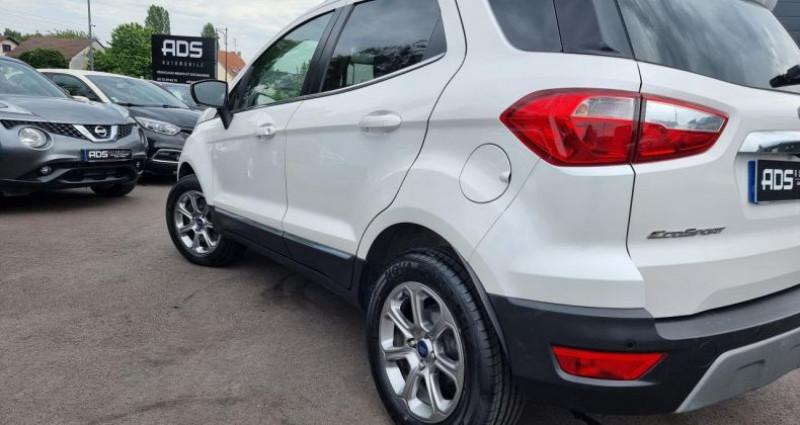 Ford EcoSport 1.0 EcoBoost 125ch Titanium BVA6 Blanc occasion à Diebling - photo n°4