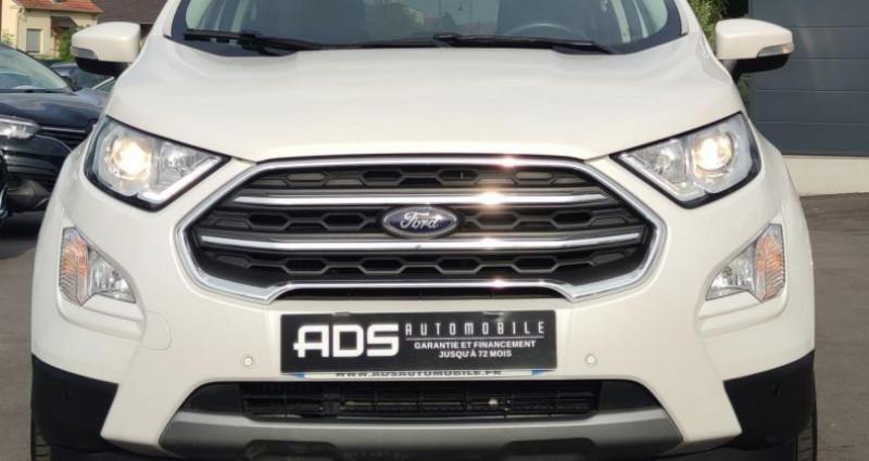 Ford EcoSport 1.0 EcoBoost 125ch Titanium BVA6 Blanc occasion à Diebling - photo n°2