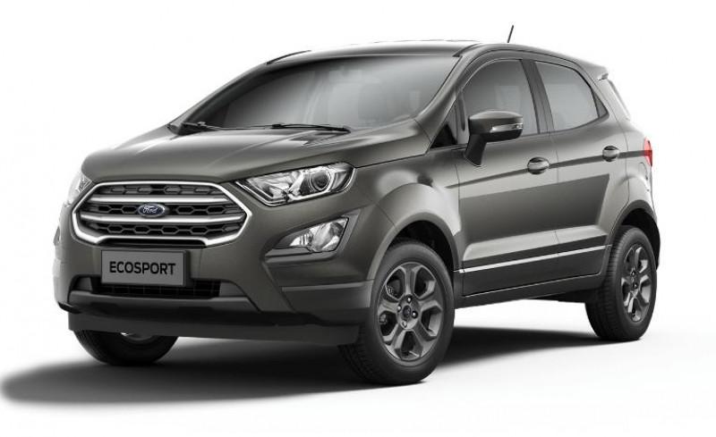 Ford EcoSport 1.0 EcoBoost 125ch Titanium Euro6.2 Gris occasion à VILLE LA GRAND