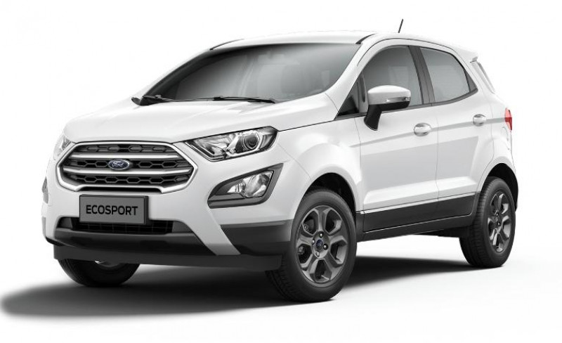 Ford EcoSport 1.0 EcoBoost 125ch Titanium Euro6.2 Blanc occasion à TOULON