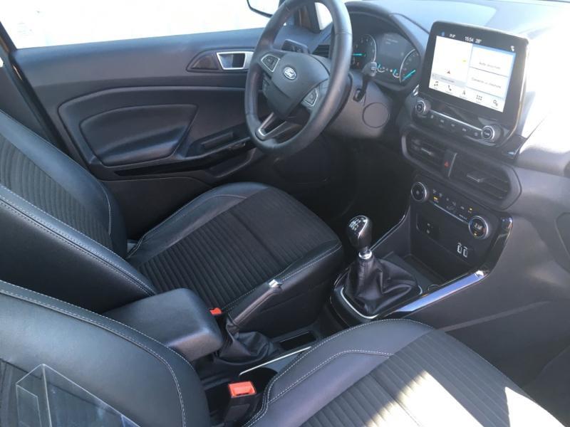 Ford EcoSport 1.0 EcoBoost 125ch Titanium Euro6.2 Marron occasion à Varennes-Vauzelles - photo n°8