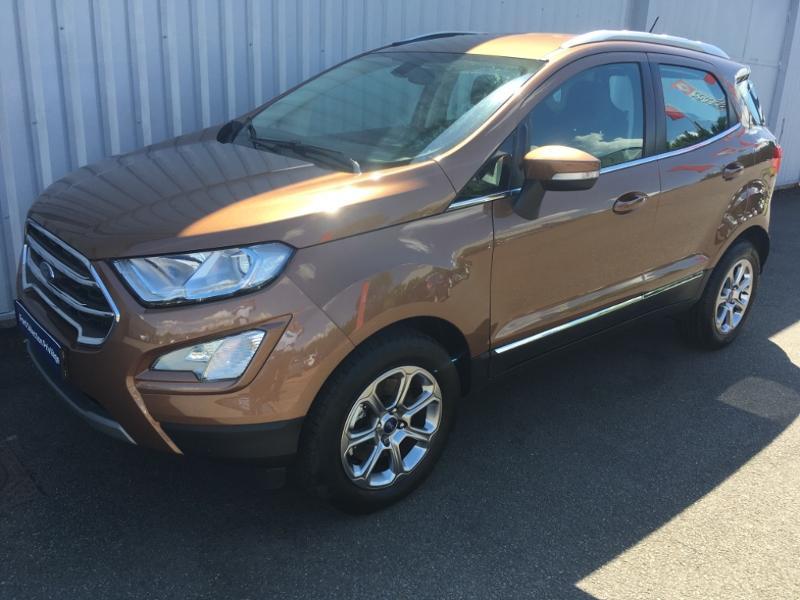 Ford EcoSport 1.0 EcoBoost 125ch Titanium Euro6.2 Marron occasion à Varennes-Vauzelles