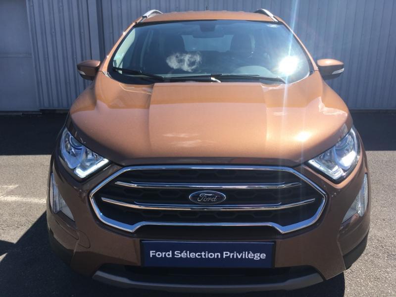 Ford EcoSport 1.0 EcoBoost 125ch Titanium Euro6.2 Marron occasion à Varennes-Vauzelles - photo n°2
