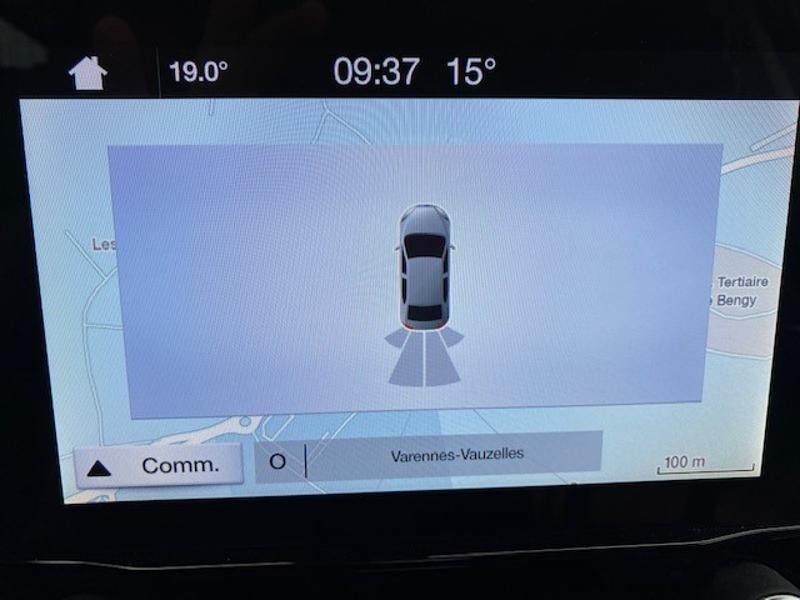Ford EcoSport 1.0 EcoBoost 125ch Titanium Euro6.2 Blanc occasion à Varennes-Vauzelles - photo n°12
