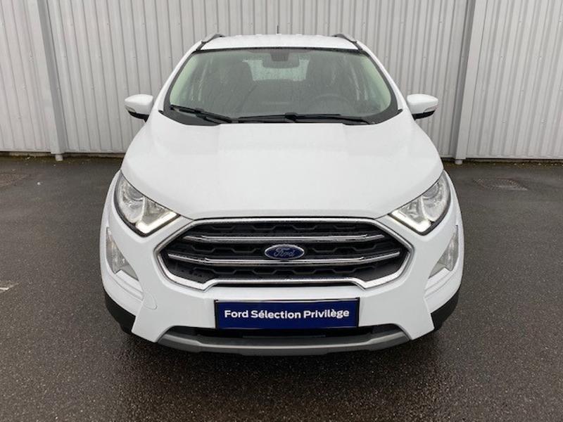 Ford EcoSport 1.0 EcoBoost 125ch Titanium Euro6.2 Blanc occasion à Varennes-Vauzelles - photo n°2