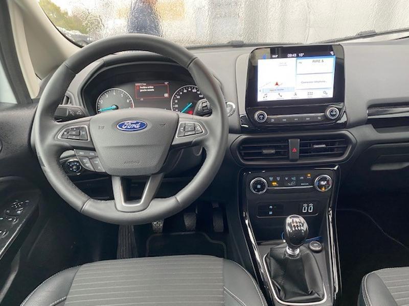 Ford EcoSport 1.0 EcoBoost 125ch Titanium Euro6.2 Blanc occasion à Varennes-Vauzelles - photo n°18