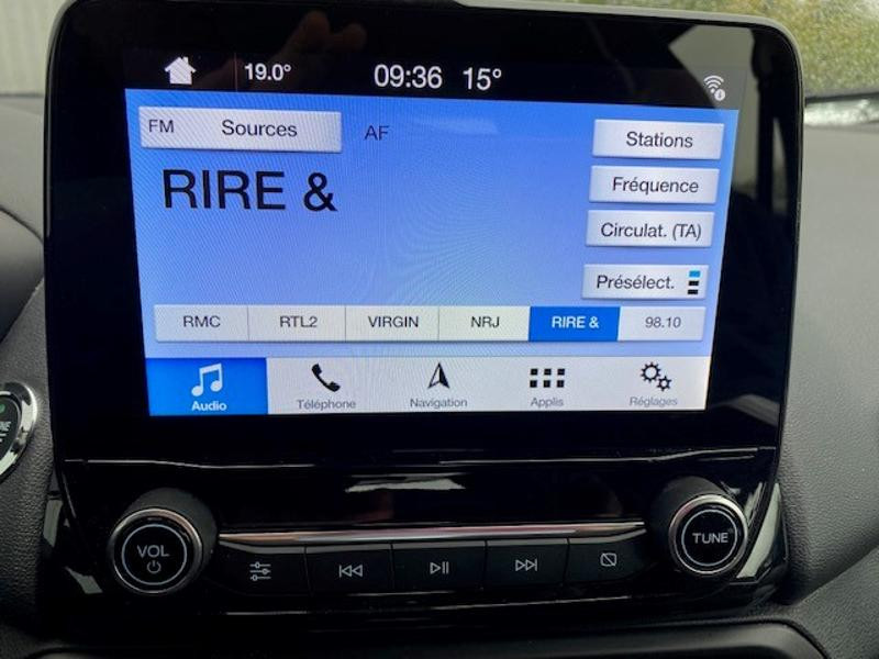 Ford EcoSport 1.0 EcoBoost 125ch Titanium Euro6.2 Blanc occasion à Varennes-Vauzelles - photo n°10