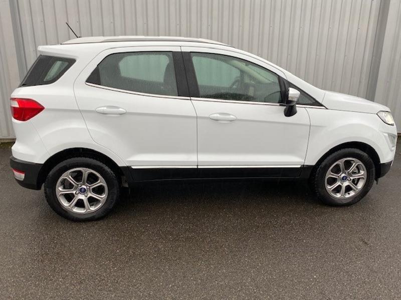 Ford EcoSport 1.0 EcoBoost 125ch Titanium Euro6.2 Blanc occasion à Varennes-Vauzelles - photo n°5