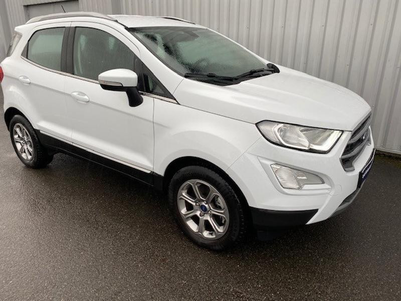 Ford EcoSport 1.0 EcoBoost 125ch Titanium Euro6.2 Blanc occasion à Varennes-Vauzelles - photo n°3