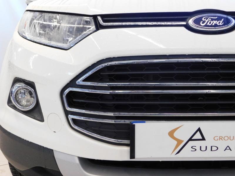 Ford EcoSport 1.0 EcoBoost 125ch Titanium Blanc occasion à Castres - photo n°6
