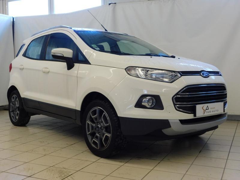 Ford EcoSport 1.0 EcoBoost 125ch Titanium Blanc occasion à Castres