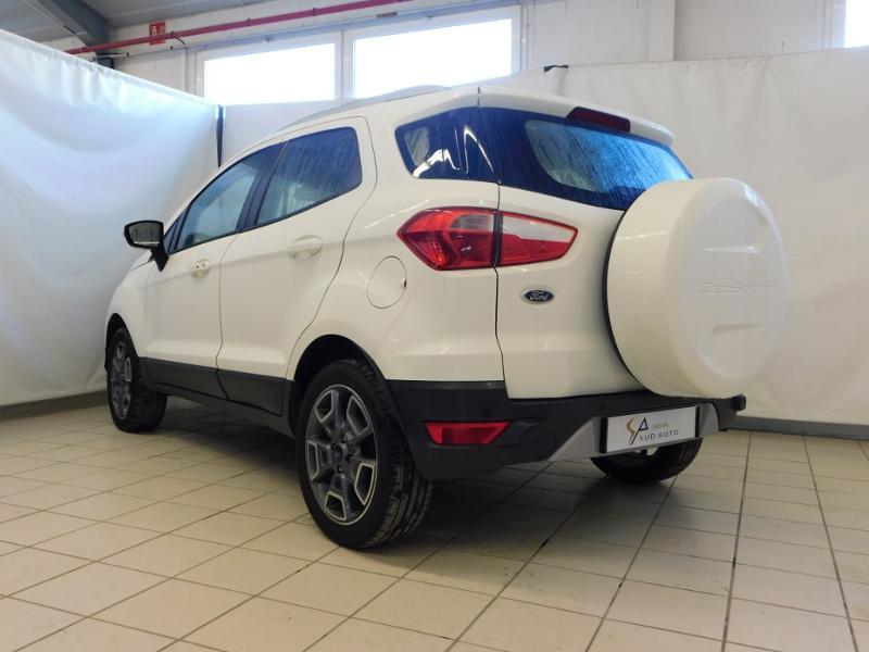 Ford EcoSport 1.0 EcoBoost 125ch Titanium Blanc occasion à Castres - photo n°3
