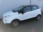 Ford EcoSport 1.0 EcoBoost 125ch Titanium Blanc à Varennes-Vauzelles 58