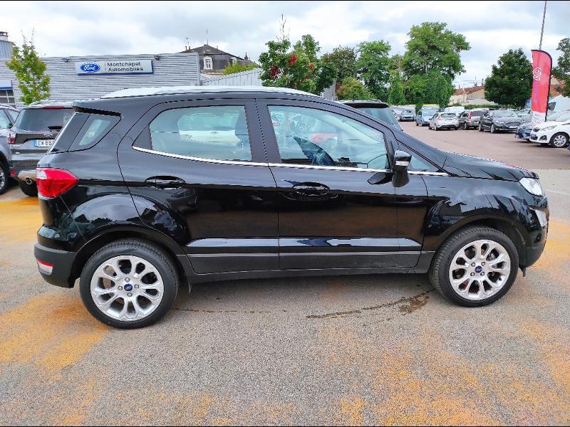Ford EcoSport 1.0 EcoBoost 125ch Titanium  occasion à Beaune - photo n°4