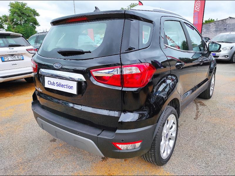 Ford EcoSport 1.0 EcoBoost 125ch Titanium  occasion à Beaune - photo n°5