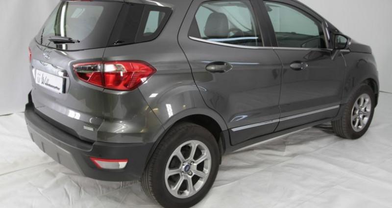 Ford EcoSport 1.0 ecoboost 125cv titanium 2 Gris occasion à Neuilly Sur Seine - photo n°4