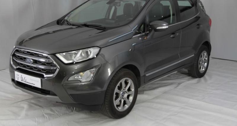 Ford EcoSport 1.0 ecoboost 125cv titanium 2 Gris occasion à Neuilly Sur Seine
