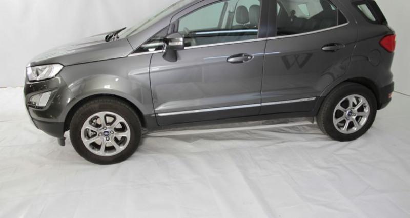 Ford EcoSport 1.0 ecoboost 125cv titanium 2 Gris occasion à Neuilly Sur Seine - photo n°3