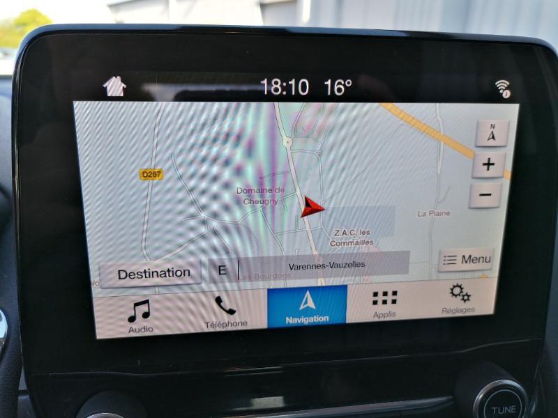 Ford EcoSport 1.5 EcoBlue 100ch Titanium Euro6.2 Gris occasion à Varennes-Vauzelles - photo n°14