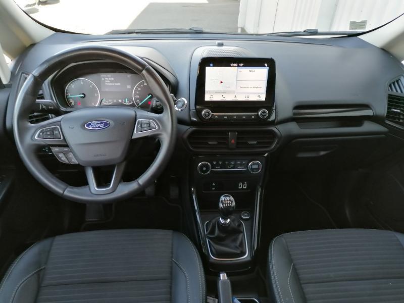 Ford EcoSport 1.5 EcoBlue 100ch Titanium Euro6.2 Gris occasion à Varennes-Vauzelles - photo n°8
