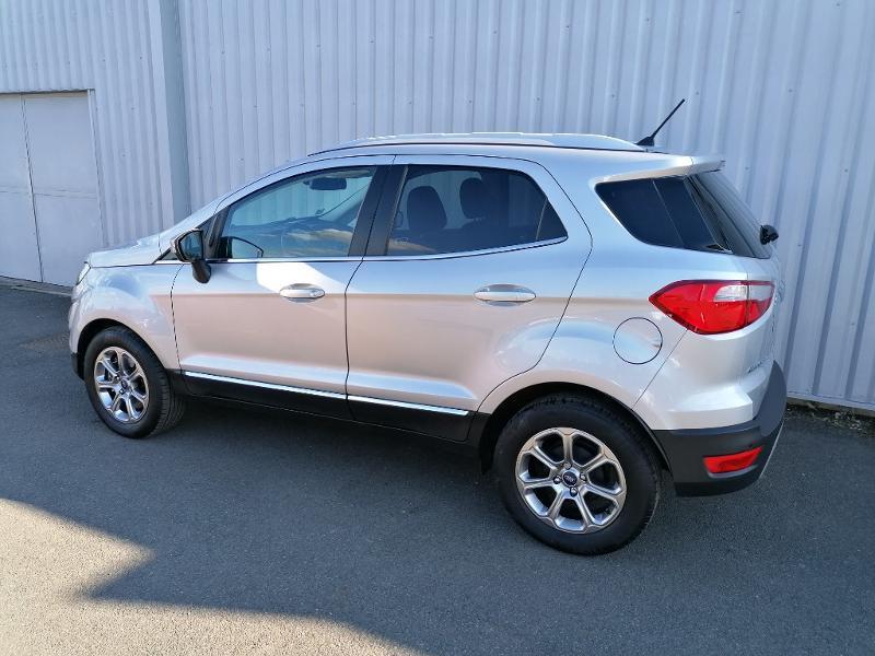 Ford EcoSport 1.5 EcoBlue 100ch Titanium Euro6.2 Gris occasion à Varennes-Vauzelles - photo n°4