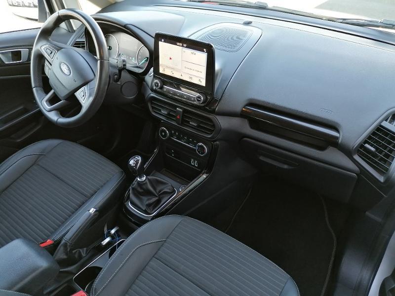 Ford EcoSport 1.5 EcoBlue 100ch Titanium Euro6.2 Gris occasion à Varennes-Vauzelles - photo n°7