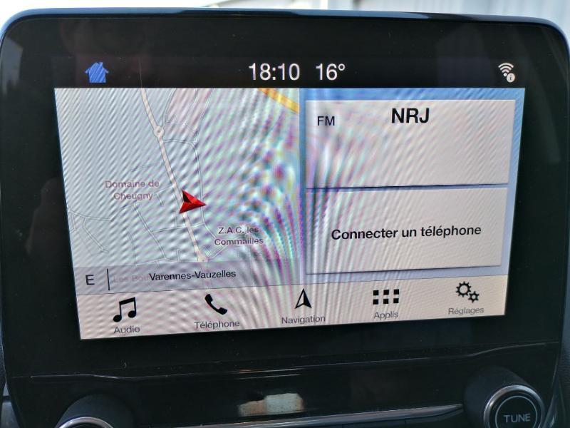 Ford EcoSport 1.5 EcoBlue 100ch Titanium Euro6.2 Gris occasion à Varennes-Vauzelles - photo n°15