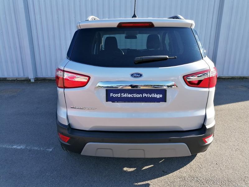 Ford EcoSport 1.5 EcoBlue 100ch Titanium Euro6.2 Gris occasion à Varennes-Vauzelles - photo n°5