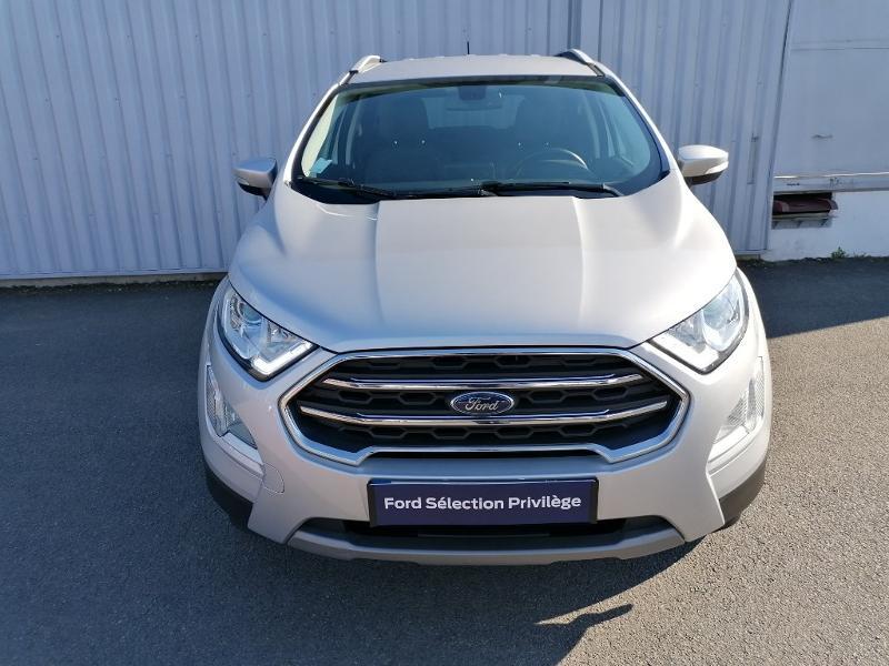 Ford EcoSport 1.5 EcoBlue 100ch Titanium Euro6.2 Gris occasion à Varennes-Vauzelles - photo n°2