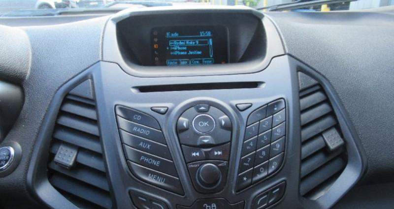 Ford EcoSport 1.5 TDCi 90 FAP Bleu occasion à Saint Parres Aux Tertres - photo n°7
