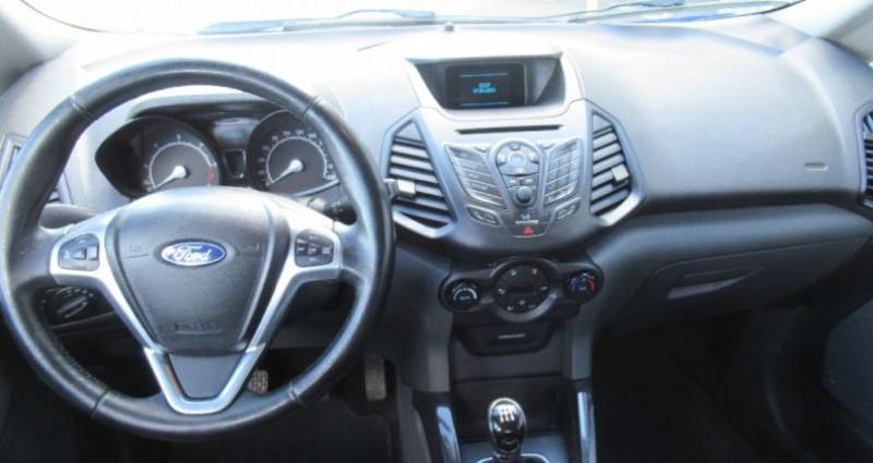 Ford EcoSport 1.5 TDCi 90 FAP Bleu occasion à Saint Parres Aux Tertres - photo n°6