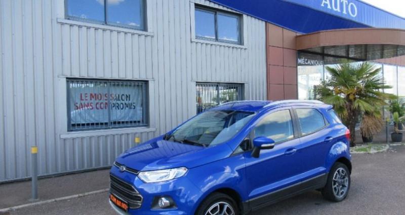 Ford EcoSport 1.5 TDCi 90 FAP Bleu occasion à Saint Parres Aux Tertres