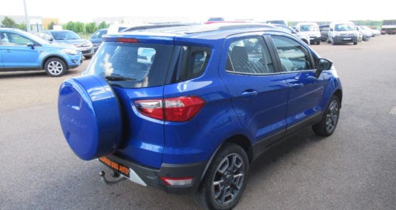 Ford EcoSport 1.5 TDCi 90 FAP Bleu occasion à Saint Parres Aux Tertres - photo n°3