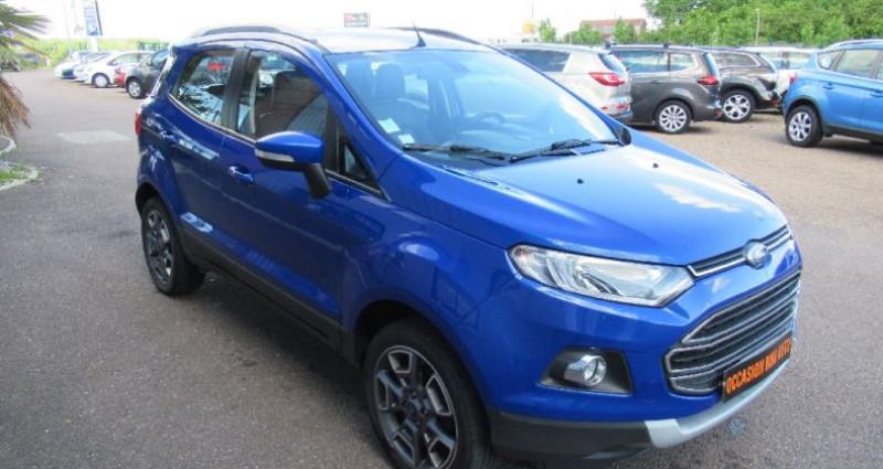Ford EcoSport 1.5 TDCi 90 FAP Bleu occasion à Saint Parres Aux Tertres - photo n°2